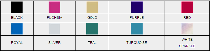 Metallic Color Chart